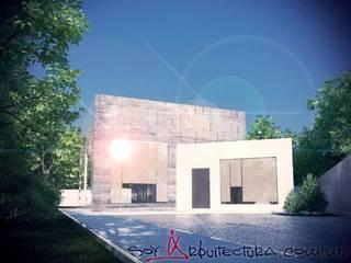 ¿Quienes Somos? Casas modernas de Soy Arquitectura Moderno