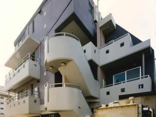 サイドバックファサード: プランニングシステム株式会社が手掛けた家です。