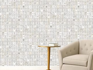 Wallpapers:  de estilo  por BLAUHAUS