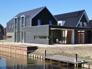 Nico Dekker Ontwerp & Bouwkunde Casas de estilo moderno
