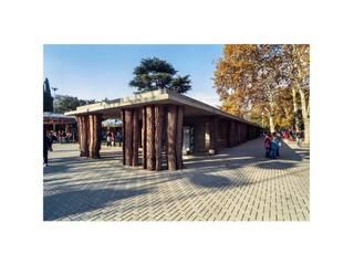 Obras Públicas: Galerías y espacios comerciales de estilo  por Estudio de fotografía y arquitectura
