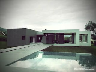 AGUIRRE+VAZQUEZ Moderne Pools