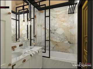 Eclectic style bathroom by Valeria Bylgakova&Design group Eclectic Stone