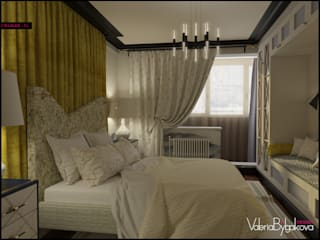 Eclectic style bedroom by Valeria Bylgakova&Design group Eclectic