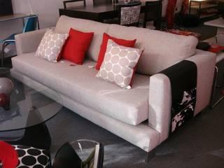 Sofas:  de estilo  por Nebula Muebles