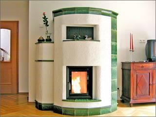 Kamine:  Wohnzimmer von Ofen & Kaminbau Wolfgang Parnow