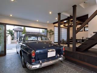 Garajes y galpones de estilo moderno por homify