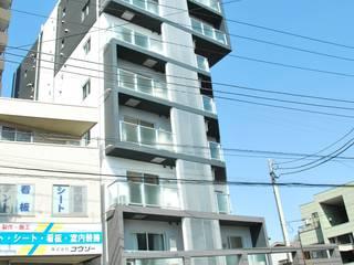 ウエストコート川崎大師 Casas modernas por nakajima Moderno