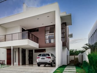 Residência A|S - Marina Brasil Arquitetura: Casas  por Marina Brasil Arquitetura,