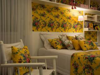 ARQ Ana Lore Burliga Miranda BedroomBeds & headboards Textile Yellow