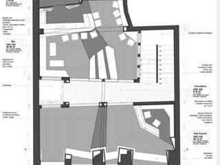 LS HOTEL: Couloir et hall d'entrée de style  par timothée tibi AID