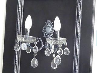 Luminaire à partir d'objets anciens:  de style  par Les