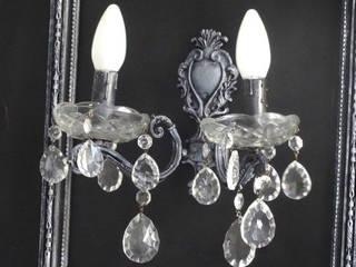 Luminaire à partir d'objets anciens par Les Éclectique