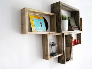 YvaR DesigN Living roomShelves Wood