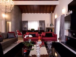 Modern Living Room by Sandra Sanches Arq e Design de Interiores Modern