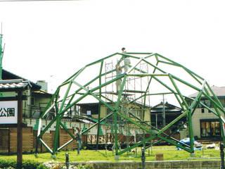 木のジオデシックドーム オリジナルな 家 の 木造トラス研究所・株式会社 合掌 オリジナル