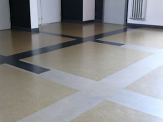 by LEOSTEEN Steinholz - farbiger Beton aus Naturstoffen Modern پتھر