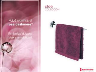 Rosa Cashmere: accesorios de baño Cloe :  de estilo  de Baño Diseño