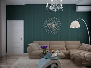 Moderne Wohnzimmer von Студия интерьерного дизайна happy.design Modern