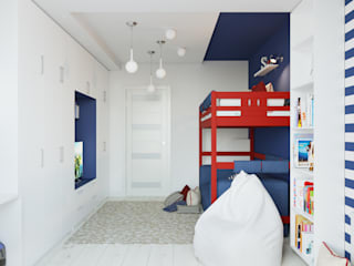 Mediterranean style nursery/kids room by Оксана Мухина Mediterranean