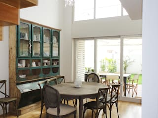Eclectic style dining room by GAAPE - ARQUITECTURA, PLANEAMENTO E ENGENHARIA, LDA Eclectic