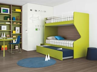 Nidi Nursery/kid's roomWardrobes & closets Green
