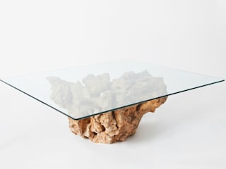 coffee table in ulivo di Radice In Movimento Rustico