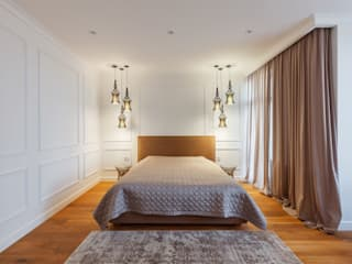 Minimalist bedroom by U-Style design studio Minimalist