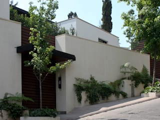 Casa Real de las Lomas 1 Casas modernas de Boué Arquitectos Moderno