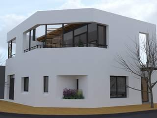 Casa Pasaje Rafael Casas modernas: Ideas, imágenes y decoración de UFV 72 Arquitectura Integral Moderno