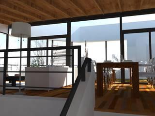 Casa Pasaje Rafael Livings modernos: Ideas, imágenes y decoración de UFV 72 Arquitectura Integral Moderno