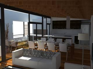 Casa Pasaje Rafael Comedores modernos de UFV 72 Arquitectura Integral Moderno