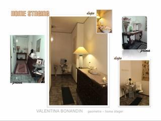 HOME STAGING appartamento 90mq Ingresso, Corridoio & Scale in stile classico di VALENTINA BONANDIN STUDIO TECNICO Classico