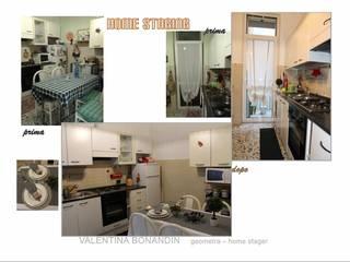 HOME STAGING appartamento 90mq Cucina in stile classico di VALENTINA BONANDIN STUDIO TECNICO Classico