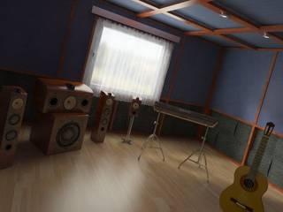 Sale Registrazione: Sala multimediale in stile  di INFO C.E.D.