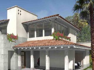 Casa Valle Real Casas rústicas de Boué Arquitectos Rústico