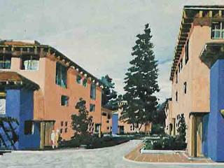 Villas de los Cedros Casas rústicas de Boué Arquitectos Rústico