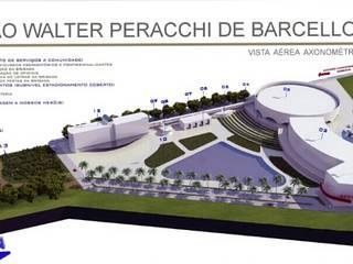 Centro Cultural Walter Peracchi de  Barcellos: Centros de exposições  por Marisol Réquia Arquitetura,