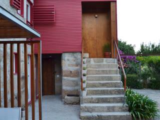 Escadas entrada principal:   por raul sousa cardoso arqt