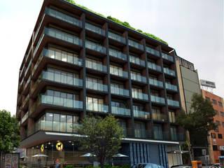 Edificio Cuauhtemoc de Boué Arquitectos Moderno