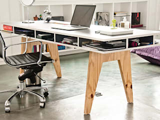 PUNCH TAD Study/officeDesks MDF Grey