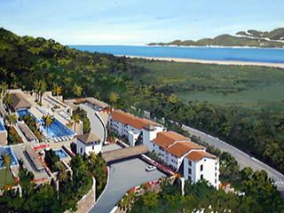 Vista Real Acapulco Hoteles de estilo moderno de Boué Arquitectos Moderno