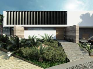 Casa de Campo Querétaro: Casas de estilo  por Tectónico,