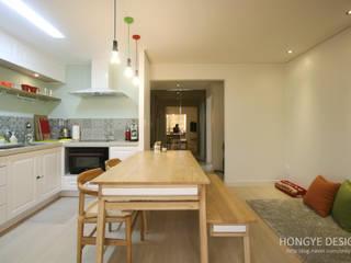 홍예디자인 Cocinas de estilo moderno