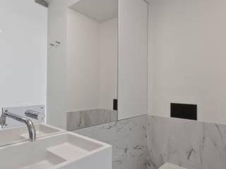Apartamento Olivais Casas de banho minimalistas por nmdarq Minimalista
