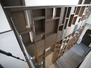 Pasillos y vestíbulos de estilo  por WRKSHP arquitectura/urbanismo,