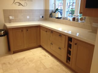 Silestone Quartz Overlay Marbles Ltd Kitchen