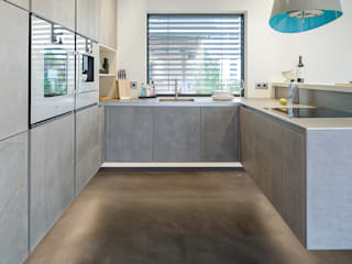Lopez-Fotodesign Modern kitchen Grey