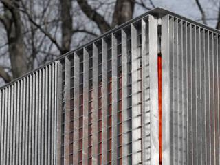 Gleichrichterwerk Rennbahnstraße : industriell  von SYRA_SCHOYERER Architekten BDA,Industrial