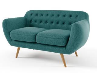 canapé 2 places tissu Ondigy:  de style  par Mobilier Moss